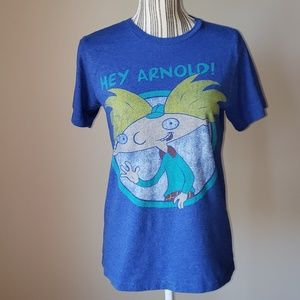 4/$25 Nickelodeon Hey Arnold! size small T-shirt